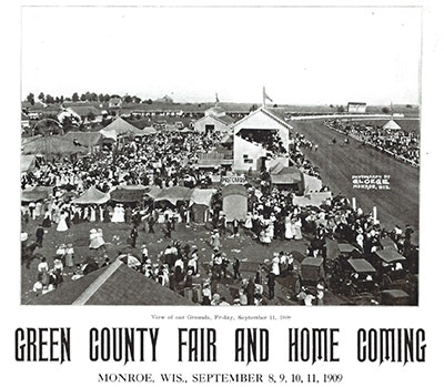 Green County Fair Monroe Wi Fair History